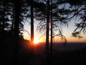 sunrise,Cape Royal